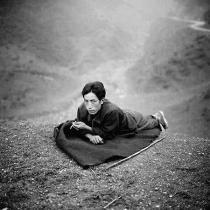 图文:彝族牧羊人(人物肖像类单幅二等奖)